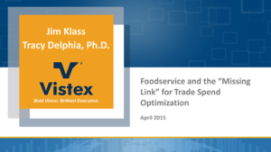 foodservice trade spend optimization