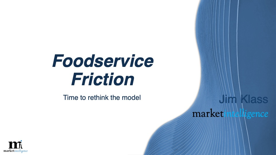 foodservice friction